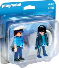 Playmobil DuoPack Polizist und Langfinger