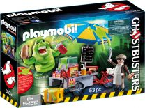 Playmobil Ghostbusters Slimer mit Hot Dog Stand