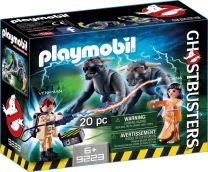 Playmobil Ghostbusters Venkman und Terror Dogs
