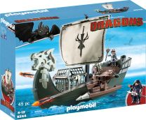 Playmobil Dragons Drago's Schiff