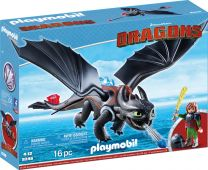 Playmobil Dragons Hicks und Ohnezahn
