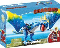 Playmobil Dragons Astrid und Sturmpfeil