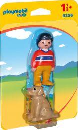 Playmobil 1.2.3 Mann mit Hund