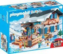 Playmobil Family Fun Skihütte