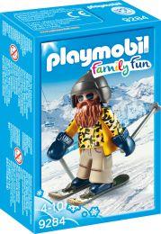 Playmobil Family Fun Skifahrer mit Snowblades