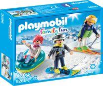 Playmobil Family Fun Freizeit-Wintersportler