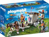 Playmobil Knights Ponygespann mit Zwergenballiste
