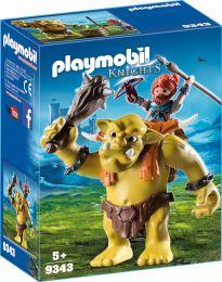 Playmobil Knights Riesentroll mit Zwergenrucksack