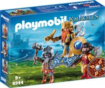 Playmobil Knights Zwergenkönig