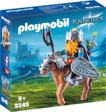 Playmobil Knights Zwerg und Pony mit Rüstung