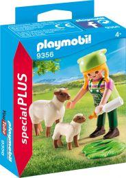 Playmobil Special Plus Bäuerin mit Schäfchen