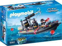 Playmobil City Action SEK-Schlauchboot