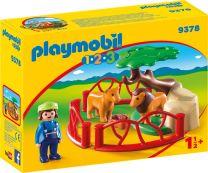 Playmobil 1.2.3 Löwengehege