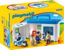 Playmobil 1.2.3 Meine Mitnehm-Polizeistation