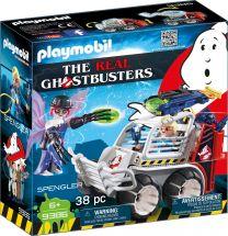 Playmobil The Real Ghostbusters Spengler mit Käfigfahrzeug