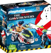 Playmobil The Real Ghostbusters Stantz mit Flybike