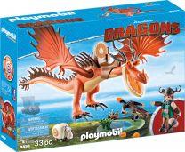 Playmobil Dragons Rotzbakke und Hakenzahn