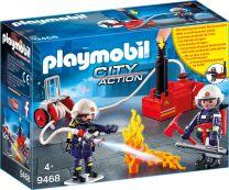 Playmobil City Action Feuerwehrmänner mit Löschpumpe