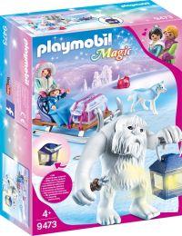 Playmobil Magic Schneetroll mit Schlitten