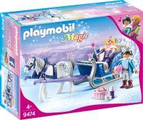 Playmobil Magic Schlitten mit Königspaar
