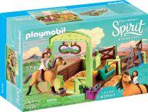 Playmobil Spirit Pferdebox Lucky & Spirit