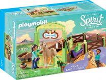Playmobil Spirit Pferdebox Pru & Chica