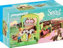 Playmobil Spirit Pferdebox Abigail & Boomerang