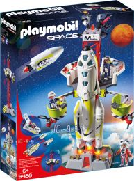 Playmobil Space Mars-Rakete mit Startrampe
