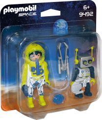 Playmobil Space DuoPack Astronaut und Roboter