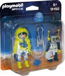 Playmobil Space DuoPack Astronaut und Roboter