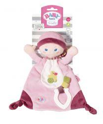 Zapf Creation Baby Born für Babies Schmusetuch mit Beißring