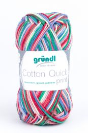 Gründl Wolle Cotton Quick Print Nr.188 Bunt