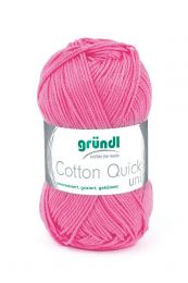 Gründl Wolle Cotton Quick Uni Nr.107 Himbeere