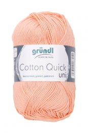 Gründl Wolle Cotton Quick Uni Nr.134 Hautfarben