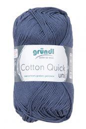 Gründl Wolle Cotton Quick Uni Nr.137 Graublau