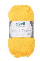 Gründl Wolle Cotton Quick Uni Nr.138 Gelb