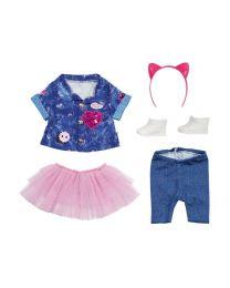 Zapf Creation Baby Born Deluxe Jeans Kleid Set (43cm)