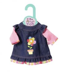 Zapf Creation Dolly Moda Jeanskleid (36cm)