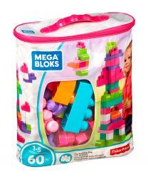 Mega Bloks Bausteinebeutel Medium Pink (60 Teile)