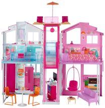 Barbie 3 Etagen Stadthaus (4 Zimmer)