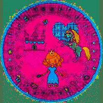 Pappteller Prinzessin 23cm (10 Stück)