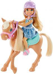 Barbie Chelsea und Pferd