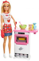 Barbie Cooking & Baking Bäckerin (inkl. Puppe)