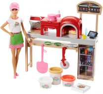 Barbie Cooking & Baking Pizzabäckerin (inkl. Puppe)