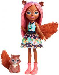Enchantimals Eichhörnchenmädchen Sancha Squirrel