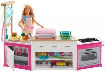 Barbie Cooking & Baking Deluxe Küche (inkl. Puppe)