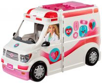 Barbie 2-in-1 Krankenwagen (mit Licht & Sound)