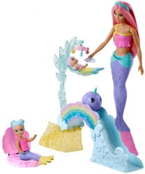 Barbie Dreamtopia Meerjungfrau-Spielplatz-Set mit Puppe