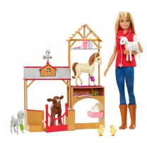 Barbie Farm Tierärztin
