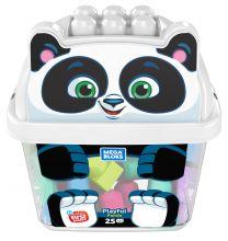 Mega Bloks Panda Bausteine-Box